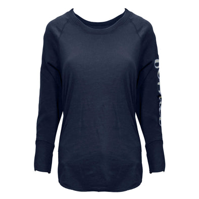 James Perse Dee Dark Blue Navy California Long Sleeve T-Shirt