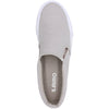 Lamo Piper Vulcanized Womens Canvas Slip On Casual Sneaker Color Grey