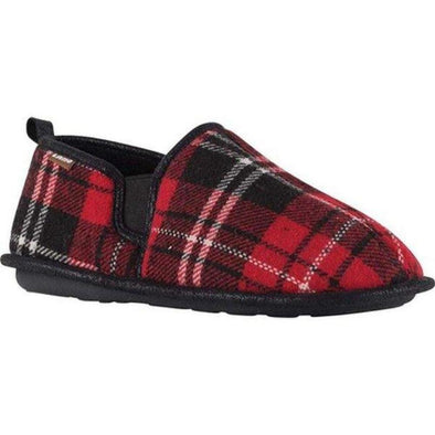 Lamo Elk Men's Slipper EM1814 Red Plaid