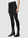 Frame Ali Ultra High Rise Skinny Fit Noir Black Jeans Size 28 (6)