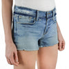 Frame Le Cutoff Wetherly Place Distressed Raw Hem Shorts Size 30