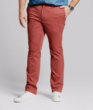 Goodfellow & Co Hennepin Chino Red Men's Pants Slim Fit