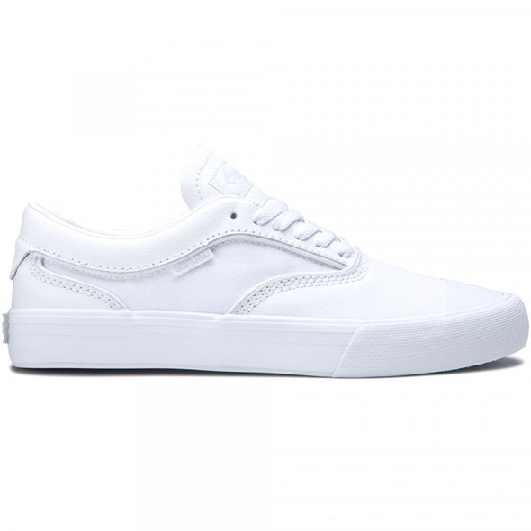 Supra Hammer VTG Men's White-White Athletic Sneakers Skate Skateboarding