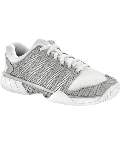 K-Swiss Hypercourt Express Women's Low White/Silver Athletic Shoes