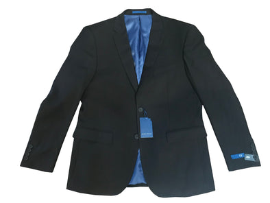Gino Vitale Modern Fit Black Men's Suit Jacket Only - Size 40R