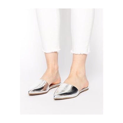 Silver Pointed Junebug Mules