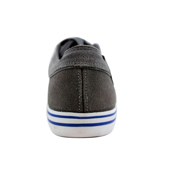 K SWISS HWD VNZ Men's Leather Low Top Tennis Shoes in Charcoal/Stingray/Blue