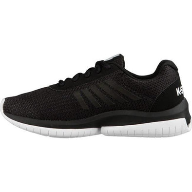 K SWISS Tubes Infinity CMF Men's Mesh Athletic Performance Sneakers in Black/White