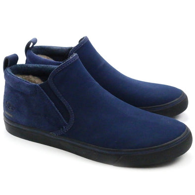 UGG Australia MEN'S CHUKKA Kemp New Navy WATERPROOF Slip-On Shoes Size 7