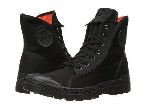 PALLADIUM Pampa Hi M65 Black/Flame Men's Lace Up Combat Boots
