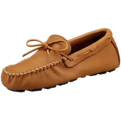 Minnetonka Moccasin Men's Moosehide Natural Color Driving Moc #950