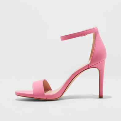 Pumps Ankle Strap Open Toe