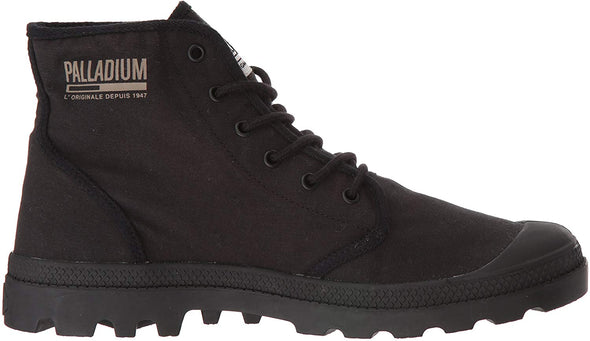 Palladium Pampa Hi Originale TC Unisex Black/Black Ankle Combat Hiking Boots
