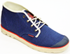 Palladium Slim Chukka Woven Men's Indigo/Ecru Lace Up Casual Shoes