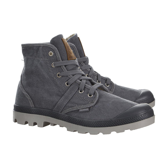 PALLADIUM Pallabrouse LC Men's Lace Up Ankle Chukka Hiking Boots in Castlerock/Vapor