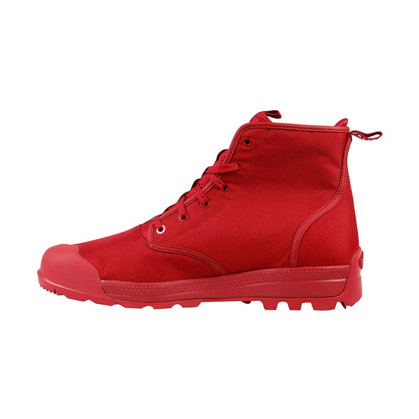 PALLADIUM PampaTech Hi TXN Chevron Red Unisex High Top Canvas Boot