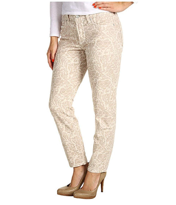 NYDJ Not Your Daughters Jeans Ankle ALISHA BONE PRIMROSE $110 Petite