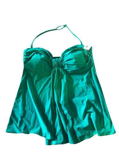 Gottex Sea Green Swimsuit Women's Bikini Tankini Top 12BE-T73 G233