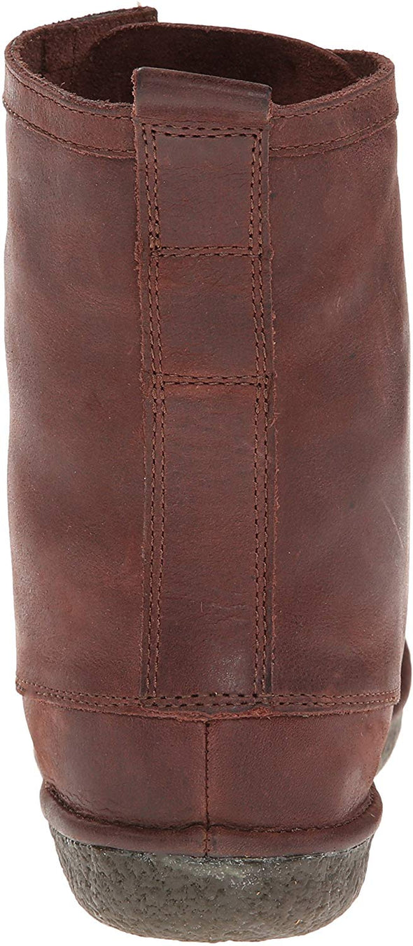 SeaVees Women's 02/60 7 Eye Trail Boot WALNUT BROWN LEATHER Boots