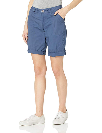 "Democracy Women's 9"" Flex ellent Convertible Utility Short Ensign Blue"