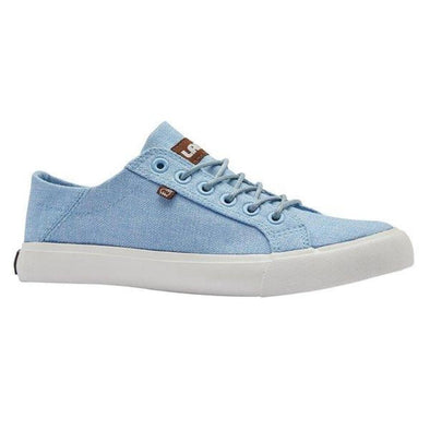 Lamo VITA EW1910 Beautiful Sky Blue Lace Up Sneakers Cirrus Footbed