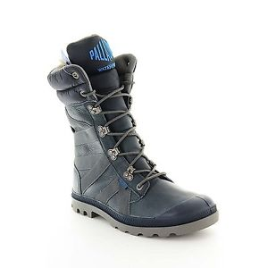 Palladium Pampa Thermal Men's Waterproof Thermal Lined Winter Boots Stone Cutter/Metal Size 12