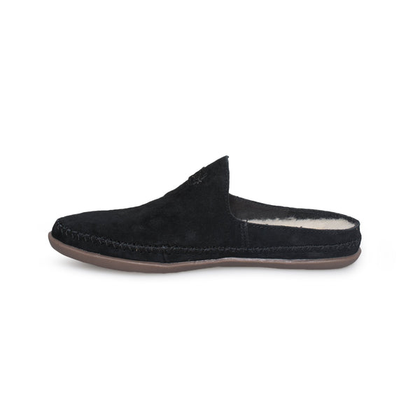UGG Slip on TAMARA Mule Slippers CLOGS SUEDE Black for BIG GIRLS Size 5