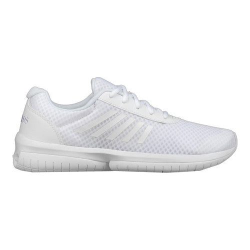 K-SWISS Tubes Infinity CMF Men's Low Mesh Athletic Performance Sneakers White/White