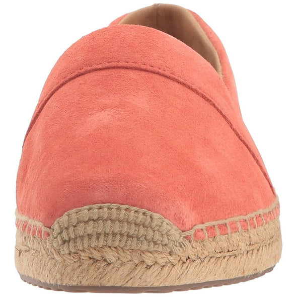 UGG Renada Suede Loafer Espadrille Flats in Beautiful Fusion Coral FCRL