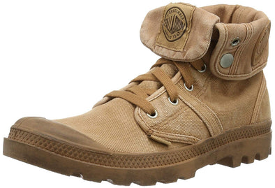 PALLADIUM Pallabrouse Baggy Men's Fold Down Ankle Hiking Boots in Peru/Chocolate