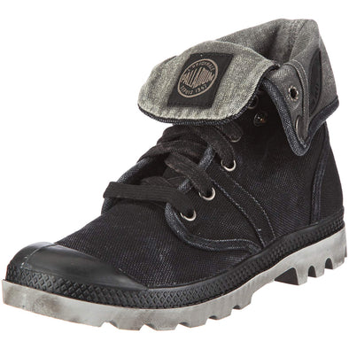 Palladium Women's Pallabrouse Baggy Chukka Boots in Black/Vapor