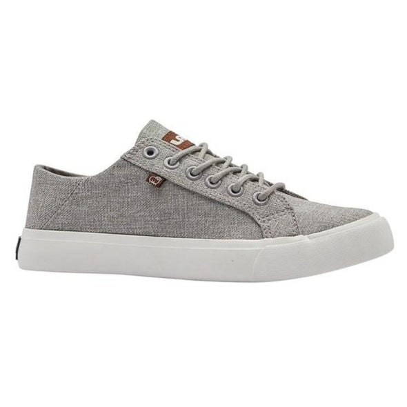 Lamo VITA EW1910 Grey (Gray) Lace Up Sneakers Cirrus Footbed Vulcanized Outsole