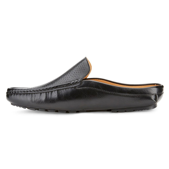 XRay Black Faux Leather Clog Moccasins XRW1246 Men's Size 11