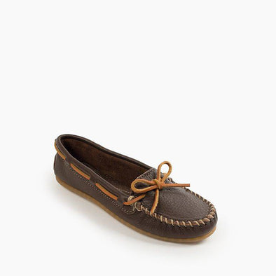 Minnetonka Men's Brown Double Deerskin Softsole Moccasin #616S