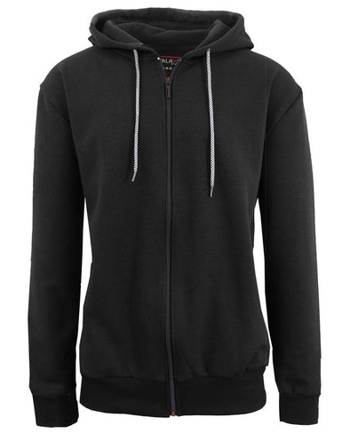 GALAXY by HARVIC Tech Fleece Men's Black Hooded Sweatshirt