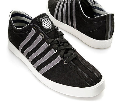 K-Swiss The Classic Lite Premium Men's Black & Grey Tennis Shoes