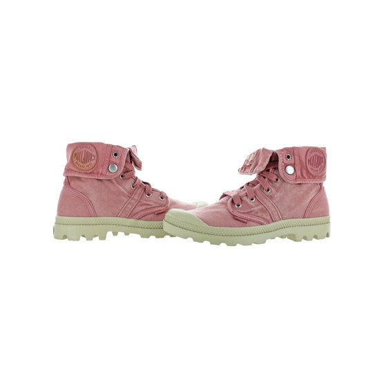 Palladium Pallabrouse Baggy Women's Chukka Canvas Boots in Fuchsia/Putty