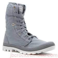 PALLADIUM Baggy Monument/Dawn Blue Men's Lace Up Fold Down Combat Hiking Boots