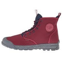 Palladium Pampatech Hi TX Unisex Maroon/Navy Mesh Ankle Hiking Combat Boots