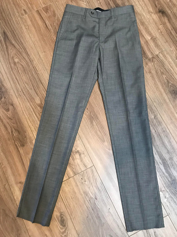 Gino Vitale Gray Slim Fit Men's 2 Piece Suit 28W Pant & 34S Jacket