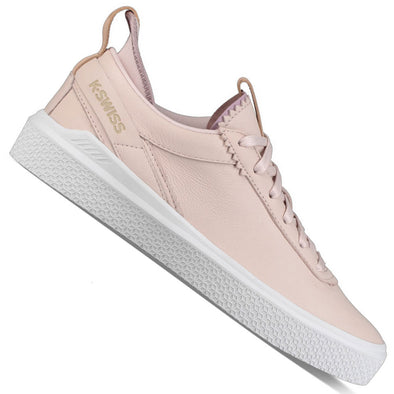 K-SWISS Dani Women's Low Top Mauve Leather Tennis Sneakers