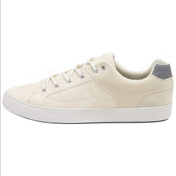 LONDON FOG Nottingham Low Top Cream Athletic Sneakers Men's Size 13