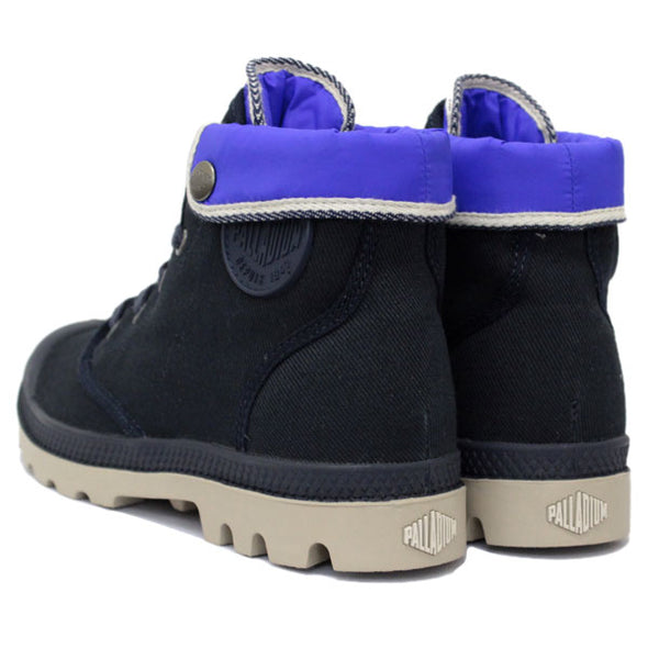 Palladium Hi Sock TFL F Women's Canvas Hiking Boots in Navy