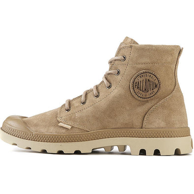 PALLADIUM Pampa Hi SDE UL Men's Incense/Putty Suede Chukka Ankle Boots