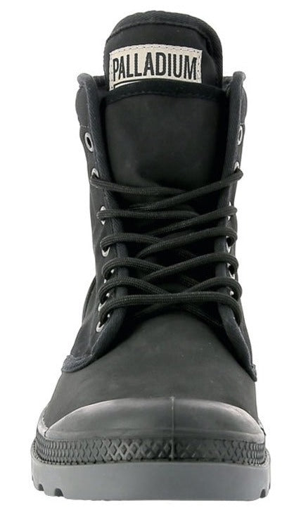 Palladium Pampa Solid Ranger TP Unisex Black Ankle Combat Hiking Chukka Boots
