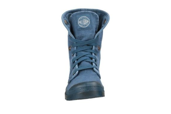 PALLADIUM Pallabrouse Baggy Legion Blue/Hi Rise Men's Chukka Combat Hiking Boots