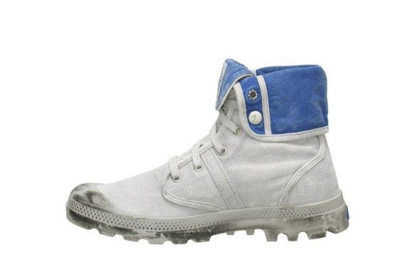 PALLADIUM Pallabrouse Baggy Men's Fold Down Ankle Hiking Boots in Vapor/Classic Blue