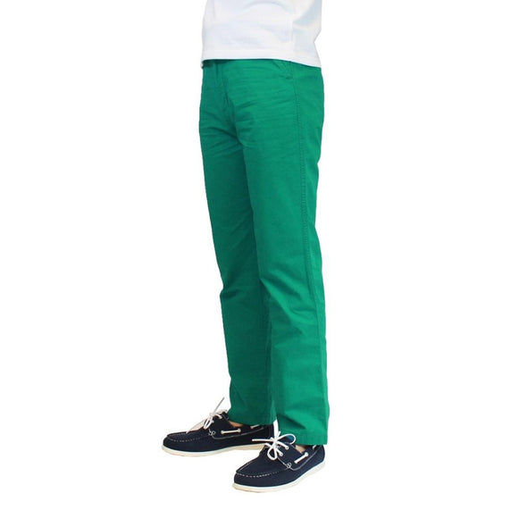 Galaxy by Harvix Men's 100% Cotton Teal Chino Pants
