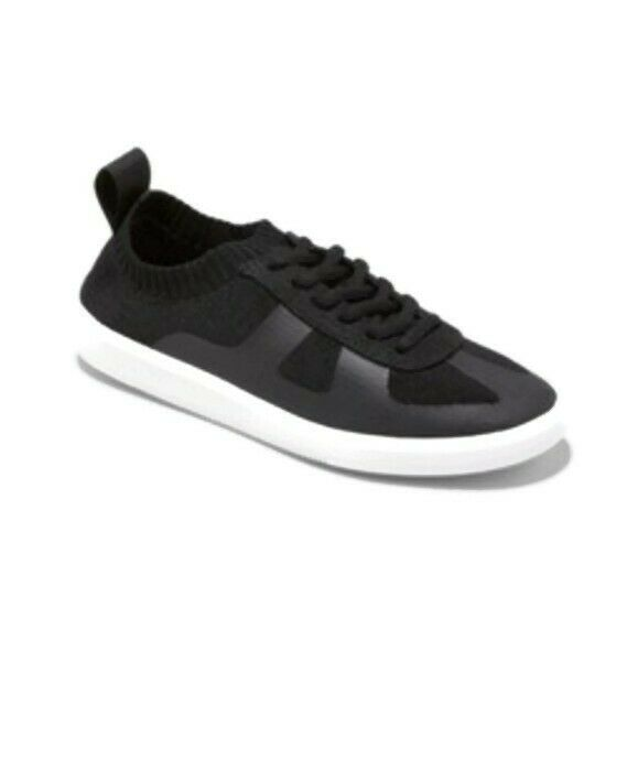 MAD LOVE Black Jaycie Knit Athletic Sneakers Women's Size 9