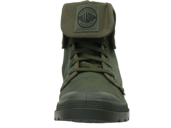 PALLADIUM Mono Chrome Baggy II Army Green Unisex Fold Down Combat Hiking Boots